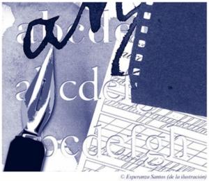 Cuaderno de lengua, por Víctor Colden
